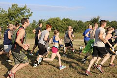 Race Start (OakleyOriginals) Tags: conquerthegauntlet race obstacles torpedo wallsoffury stairwaytoheaven cliffhanger tulsa ok august 2016 challenge strength fitness competitive medals