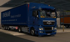 man tgx euro 5 krone trailer ets2 (trucker on the road) Tags: man tgx euro 5 krone trailer ets2