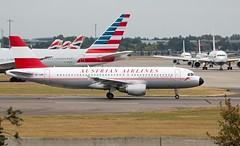 OE-LBP - Airbus A320-214 - LHR (Seán Noel O'Connell) Tags: oelbp airbus a320214 lhr 09r heathrow airport os454 austrian airlines