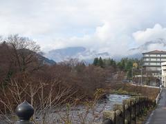 Streets of Nikko (Shutter Chimp: Im back!) Tags: mountain cloud nikko street house      river