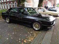 BMW E28 (911gt2rs) Tags: treffen meeting show event tuning spoiler bodykit schwarz black bbs bimmer 5er 525i 535i 520i