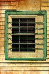 Barred window (mrgraphic2) Tags: indianapolis indiana barred window