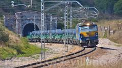 251-004-8 Siderrgico Pajares tunel de La Perruca (4+) JCS (ppcharly) Tags: perruca tunel pajares puerto busdongo locomotora 251 siderrgico bobinas bobinero abiertos shmms
