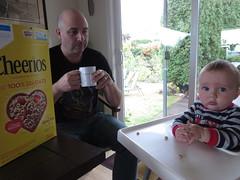the beginning of cheerios (carolyn_in_oregon) Tags: portland oregon jacob al allie