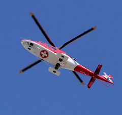 Emergency Flight (arbyreed) Tags: arbyreed airmed universityofutah medical rescue helicopter medicalhelicopter rotaitngwings