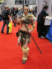 Is this a specific Skyrim character? (Docking Bay 93) Tags: new york hammer silver comic cosplay comiccon con 2012 maxwells nycc skyrim