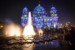 Berlin Festival of Lights 2012: Berliner Dom (Lens Daemmi) Tags: berlin festival germany lights cathedral dom festivaloflights berliner 2012 fol