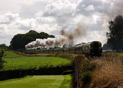 dogleg (colinirwinphotography) Tags: birthday up last manchester happy photo flyer elizabeth with princess no loco class steam scarborough years curve airborne charges stainer lms 462 pleasington 8f 48151 46201 fellsman 17082011 dentongreater