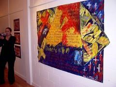 """Moto Kehe - Strange Land"" (1990) by Glenda Vilisoni (Fresh Gallery Otara) Tags: visualarts otara southauckland pacificart freshgalleryotara"