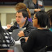 North Carolina Campuses Against Hunger attendees discuss ideas during second day break-out sessions.