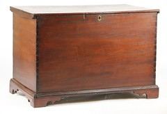 32. Walnut Blanket Chest