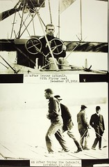Catapult Test (San Diego Air & Space Museum Archives) Tags: aviation 1912 usn aviator navalaviation unitedstatesnavy ellyson catapulttest washingtonnavalyard theodoregordonellyson theodoregellyson theodoreellyson navalaviatorno1