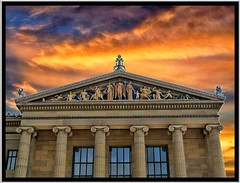 Philadelphia Pa ~ Philadelphia Museum of Art (Onasill ~ Bill Badzo - 60 Million Views - Thank Yo) Tags: usa building art philadelphia museum architecture america greek us pennsylvania pa american sculptures pediment philadelphiamuseumofart revival fairmountpark onasill