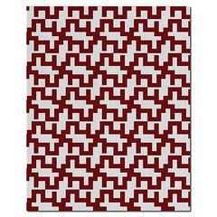 Maze Wool Rug in  Cayenne and Natural (PURE Inspired Design) Tags: customfurniture organicfabric ecofriendlyfurniture woolrugs
