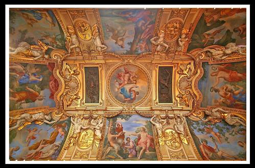 Salle des saisons (ancienne antichambre de l'appartement d'été de la reine-mère, Anne d'Autriche) [1655-1658]- musée du Louvre, Paris