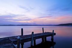 Last Light (Torkn2U) Tags: sunset public belmont jetty wharf lakemacquarie squidsink