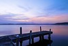 Last Light (Torkn2U) Tags: sunset public belmont jetty wharf lakemacquarie squidsink