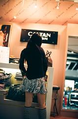 patterned skirt (andidrew) Tags: 50mm nikon kodak d f14 taiwan f100 taichung 100 af nikkor ai ektar f14d
