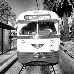 F Market Castro (O Caritas) Tags: sf sanfrancisco square muni squareformat inkwell android sfmta iphoneography instagramapp uploaded:by=instagram samsunggalaxyprevail sphm820bst