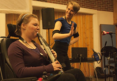 Alina and Ingeborg performing (apollocreative) Tags: