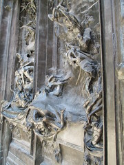 Gates of Hell, Rodin Museum, Paris (supe2009) Tags: vacation sculpture paris france gardens museum bronze painting europe paintings canvas oil sculptures rodin 2012 rodinmuseum augusterodin thegatesofhell vacation2012