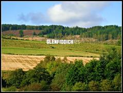 Glenfiddich sign outside Dufftown (pefkosmad) Tags: tour single whisky scotch distillery glenfiddich malt dufftown scotland1