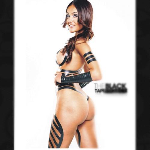sexy ass broads in black tape