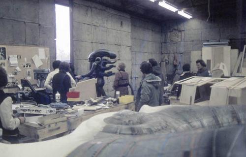 珍貴的1979年「異形」幕後花絮照片曝光