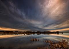 Laguna de Lor (martin zalba) Tags: sunset lake landscape atardecer paisaje laguna lor navarra