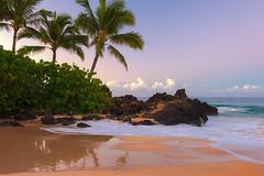 Maui @ 6:00 AM (mojo2u) Tags: ocean morning sunrise hawaii cove secretbeach maui makena weddingbeach nikon2470mm nikond700