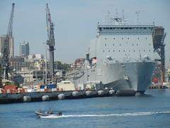 HMAS Choules (L100) (Stilgherrian) Tags: ran gardenisland landingship largsbay l100 choules