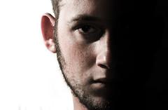 53/365: Halves (ShutterFingrs) Tags: portrait nikon d80 strobist sb700
