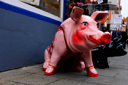 Piggy, Nordlingen Town - Germany