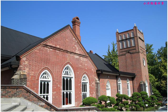 首爾市廳站貞洞路정동길 貞洞第一教堂