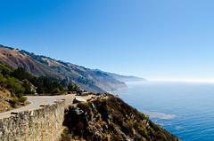 Big Sur (Abraham.Basil) Tags: ocean california road sky usa mountains water america coast big pacific country bigsur pch coastal sur pacificcoast pacificcoasthighway
