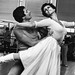 David Drew and Georgina Parkinson during rehearsals for Mayerling © Roy Round 1978
