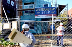 "Volunteers Participate in Veteran's Day Build • <a style=""font-size:0.8em;"" href=""http://www.flickr.com/photos/89365820@N03/8135823893/"" target=""_blank"">View on Flickr</a>"