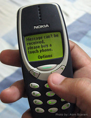 Weird Error..! (Asim Bijarani) Tags: old apple mobile vintage nokia phone samsung device lcd touchscreen 3310 htc nokia3310