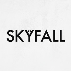 Skyfall. (cooeedesign) Tags: travel family england sky dublin david art love apple make illustration canon movie advertising poster de typography james design sketch cool funny day drawing daniel creative award fresh every doodle font type bond illustrator 365 everyday something aa everday cooee aphabet skyfall craog delahunty