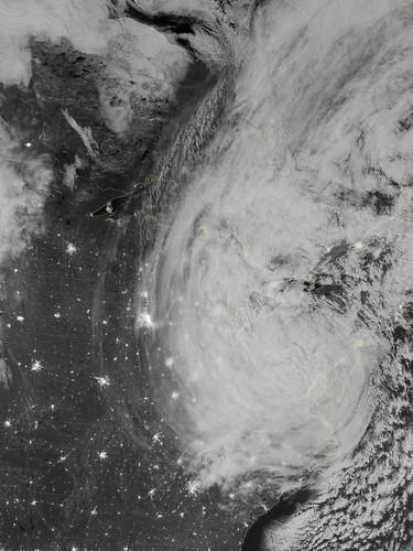 night earth sandy hurricane nasa npp goddard satelliteviewofearth hurricanesandy
