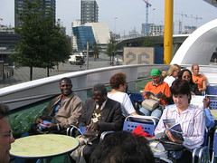 Visit to the Port of Rotterdam 2005