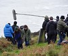'A Thousand Times Goodnight' filming on location on Howth Summit. Dublin