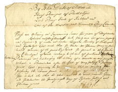 Precept to hinder pretended minister of Dull, 1713 (P&KC Archive) Tags: history church parish scotland highlands familyhistory politics perthshire government punishment lawandorder 18thcentury kirk sabbath historicevent perthandkinross ecsochistory