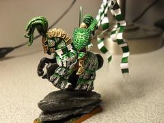Green Knight (CoNaBo) Tags: warhammer bretonnia greenknight