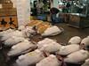 Tuna at Tsukiji fish market in Tokyo (mbphillips) Tags: 日本 東京 関東 kanto fareast 일본 asia アジア 아시아 亚洲 亞洲 mbphillips canonixus400 market 市場 市场 시장 mercado geotagged photojournalism photojournalist fishmarket japan japón tokyo capital 首都 수도