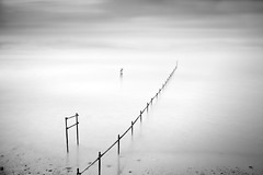 Denial / Denial (Anthony Owen-Jones) Tags: uk longexposure sea blackandwhite white seascape black art beach water monochrome lines wales clouds canon landscape eos rebel mono coast landscapes photo seaside kiss europe exposure artistic unitedkingdom fineart north minimal filter photograph le ethereal nd minimalist bnw conwy hoya t3i x5 rhosonsea colwynbay northwales rhos colwyn sep2 600d takenwith 10stop bigstopper rebelt3i kissx5 anthonyowenjones anthonyowenjonescom