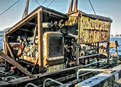 Old Caterpiller Engine (chartan in Italy) Tags: alaska barge stillworking sealaska oldcaterpiller