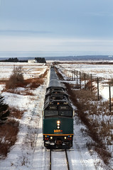 Via Rail Ocean (coldwar_bonnet) Tags: trains views100 eos7d