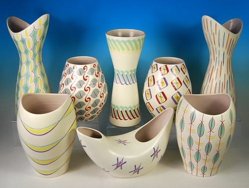 Flickriver Photoset Freeform Poole Pottery Designed 195657 By