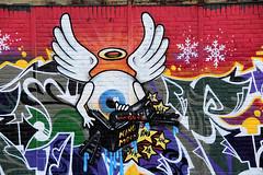 graffiti (wojofoto) Tags: amsterdam graffiti ndsm noord wojofoto